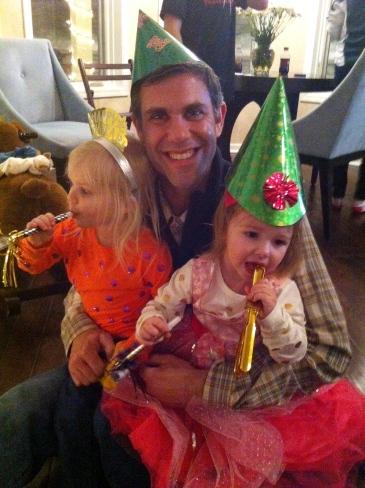 Happy New Year dad
