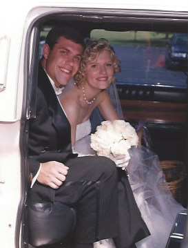 Up Close Wedding Photo